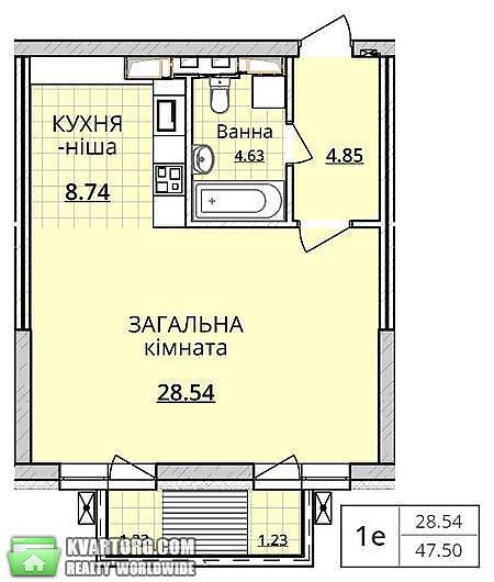 продам 1-комнатную квартиру. Киев, ул.Оболонский просп. 1. Цена: 74000$  (ID 2070428) - Фото 3