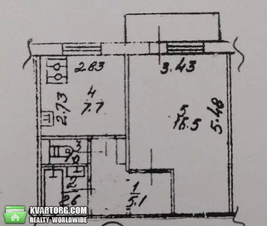 продам 1-комнатную квартиру Киев, ул. Героев Сталинграда пр 42 - Фото 2