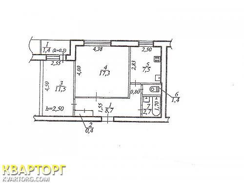 продам 2-комнатную квартиру Днепропетровск, ул.котляревского - Фото 5