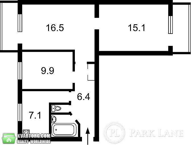продам 3-комнатную квартиру. Киев, ул. Полярная 11. Цена: 45000$  (ID 1798131) - Фото 8