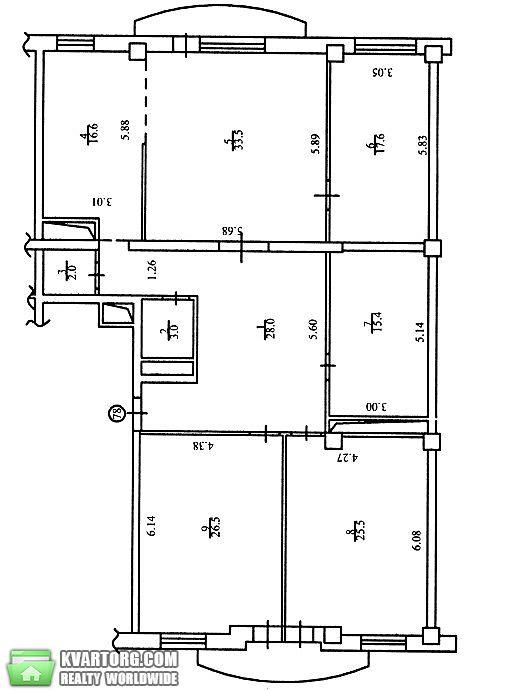 сдам 4-комнатную квартиру Киев, ул. Тургеневская 46/11 - Фото 9