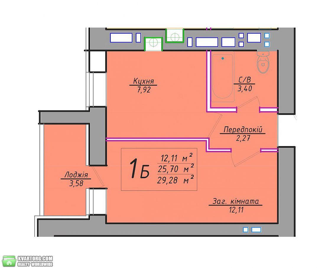 продам 1-комнатную квартиру. Буча, ул.Кожедуба 3. Цена: 13469$  (ID 1798114) - Фото 2