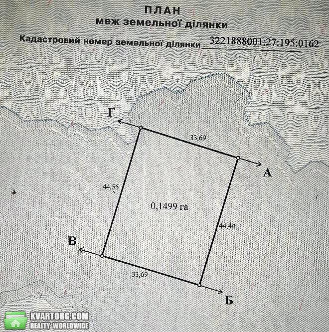 продам участок Вышгород, ул.с. СУВИД, с. Первое Мая - Фото 1