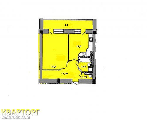 продам 1-комнатную квартиру Одесса, ул.Костанди / Королева 162 - Фото 2