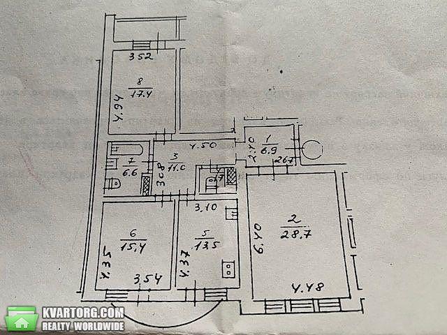 продам 3-комнатную квартиру Киев, ул. Героев Сталинграда пр 16д - Фото 10