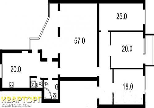 продам 4-комнатную квартиру Киев, ул. улица Горького  18 - Фото 4