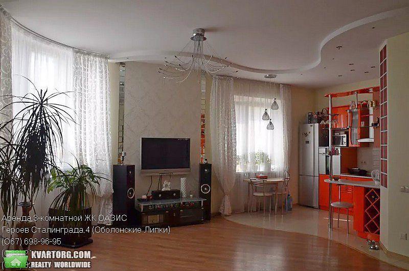 сдам 3-комнатную квартиру Киев, ул. Героев Сталинграда пр 4 - Фото 1