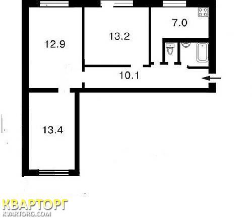 продам 3-комнатную квартиру Киев, ул.Багговутовская улица 3/15 - Фото 9