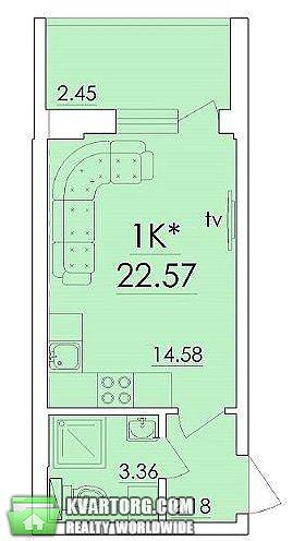 продам 1-комнатную квартиру. Одесса, ул.Сахарова . Цена: 17500$  (ID 2195247) - Фото 6