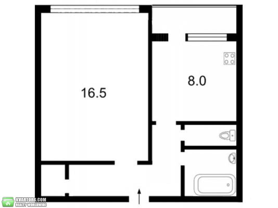 продам 1-комнатную квартиру Киев, ул. Героев Сталинграда пр 9а - Фото 2