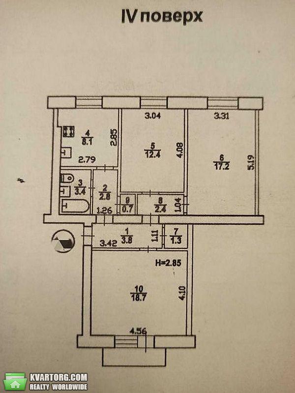 продам 3-комнатную квартиру Одесса, ул.Среднефонтанская 26 - Фото 2