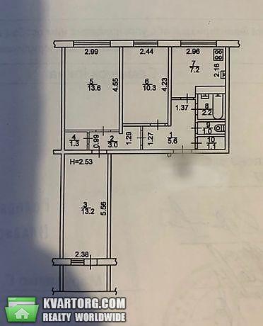 продам 3-комнатную квартиру Киев, ул. Лайоша Гавро 18а - Фото 4
