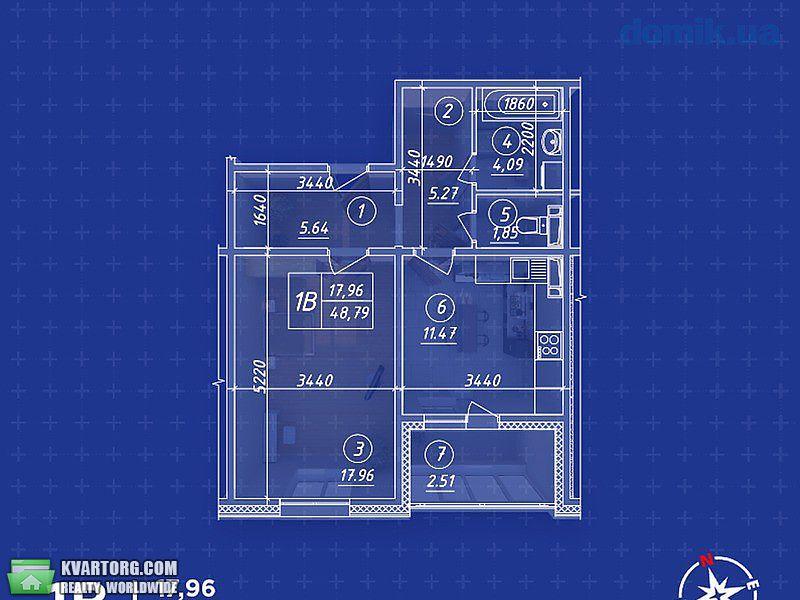 продам 1-комнатную квартиру Киев, ул.Балтийский 23 - Фото 5