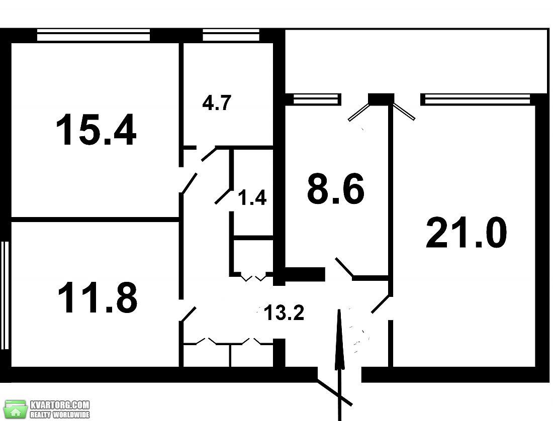продам 3-комнатную квартиру Киев, ул. Суворова 11 - Фото 10