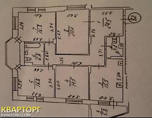 продам 4-комнатную квартиру Киев, ул.улица Кудряшова 3 - Фото 2