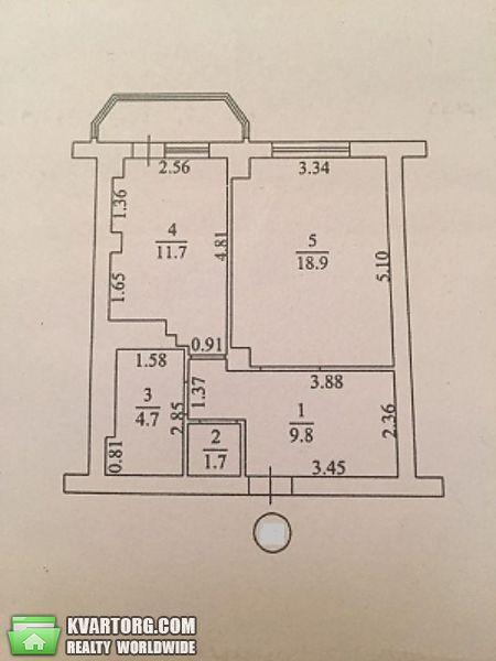 продам 1-комнатную квартиру. Одесса, ул.Бочарова 44б. Цена: 22000$  (ID 2336071) - Фото 6