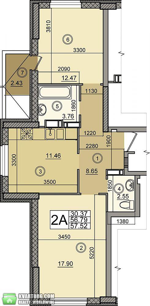 продам 2-комнатную квартиру Киев, ул. Голосеевский пр 74 - Фото 9