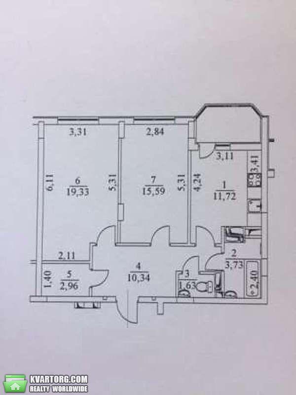 продам 2-комнатную квартиру. Киев, ул.Кульженко 33. Цена: 79900$  (ID 1985824) - Фото 9