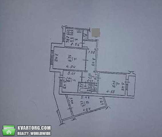 продам 3-комнатную квартиру. Киев, ул. Ватутина пр 6. Цена: 50000$  (ID 1989087) - Фото 2