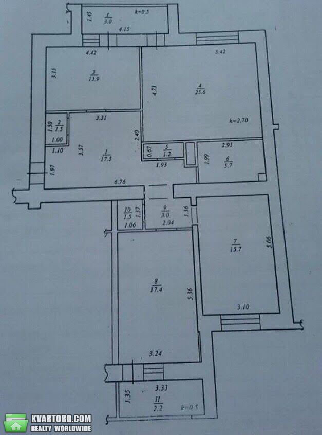 продам 3-комнатную квартиру Днепропетровск, ул.Кедрина - Фото 9