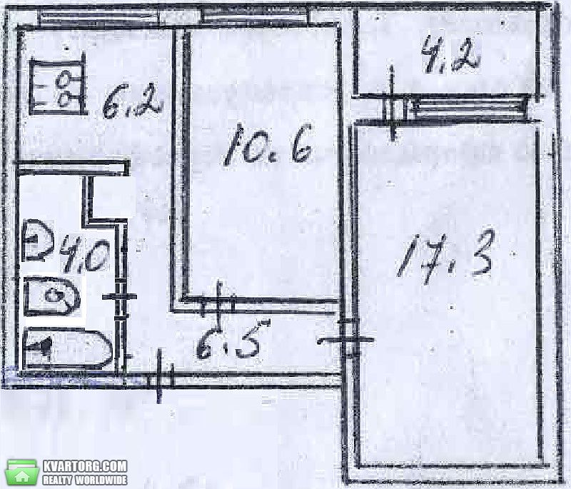 продам 2-комнатную квартиру. Киев, ул. Курнатовского 2а. Цена: 37000$  (ID 2057981) - Фото 5