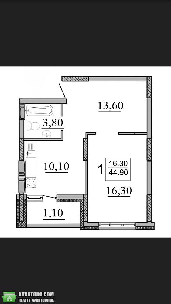 продам 1-комнатную квартиру. Киев, ул.Конева  10 1. Цена: 61000$  (ID 2070923) - Фото 8
