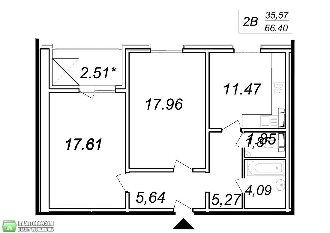 продам 2-комнатную квартиру. Вышгород, ул.кургузхова 11а. Цена: 34340$  (ID 2111593) - Фото 2