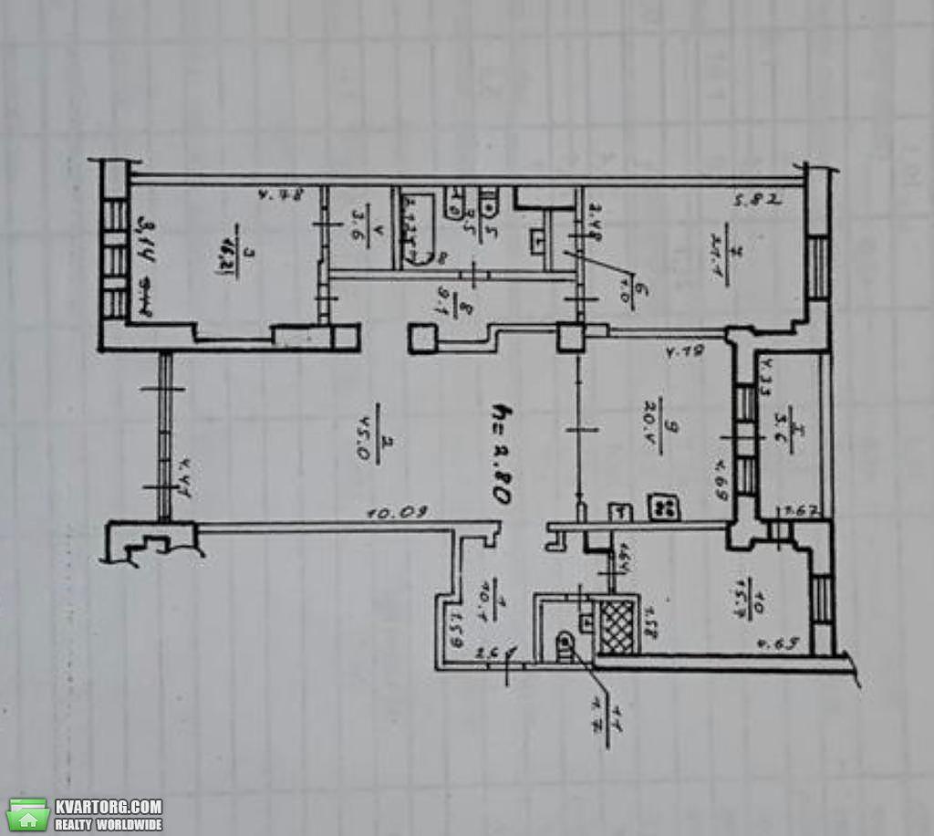 продам 3-комнатную квартиру Днепропетровск, ул.Жуковского 21а - Фото 10