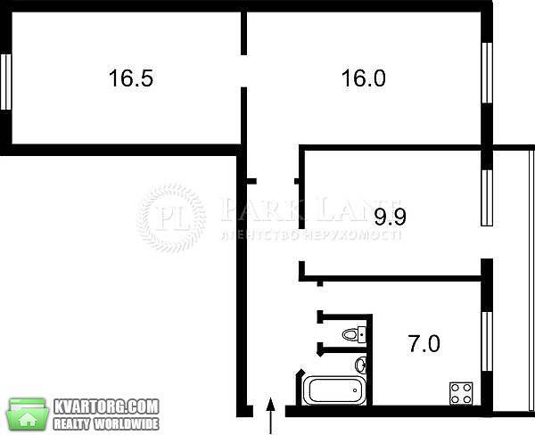 продам 3-комнатную квартиру Киев, ул. Залки 4 - Фото 1