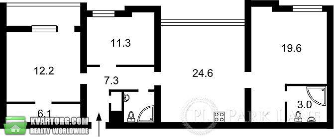 продам 3-комнатную квартиру. Киев, ул. Антоновича 9/14. Цена: 160000$  (ID 1797120) - Фото 6