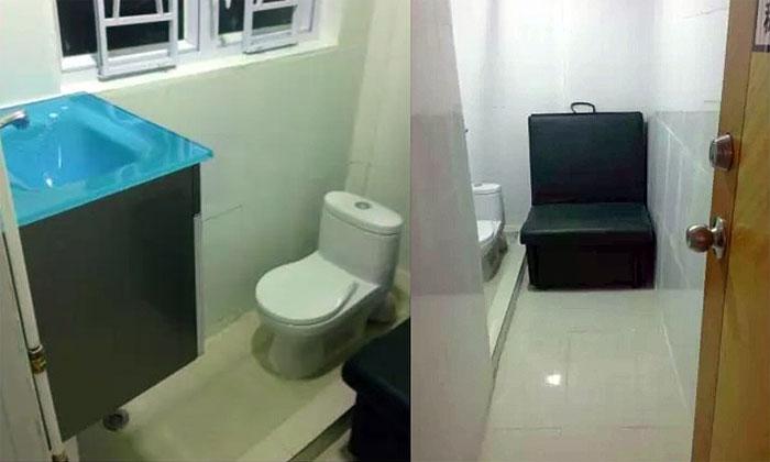 Как выглядит квартира размером с туалет: в Гонконге сдают квартиру в 4 квадрата