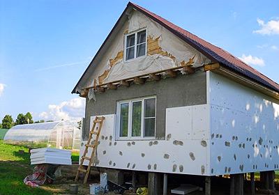 Утепляем дом снаружи и внутри - своими руками